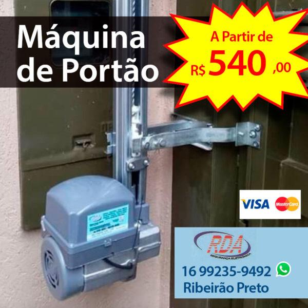 Máquina de Portão em Ribeirão Preto
