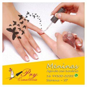 Manicure em Serrana