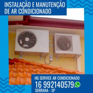 Instalação de ar condicionado em Serrana