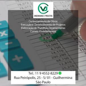 Elaboração de Planilhas Orçamentárias em São Paulo
