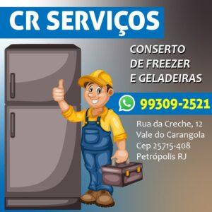 Conserto de Freezer em Petrópolis