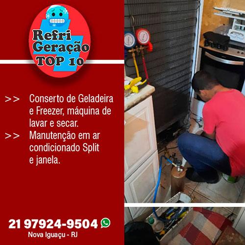 Conserto de freezer em Nova Iguaçu