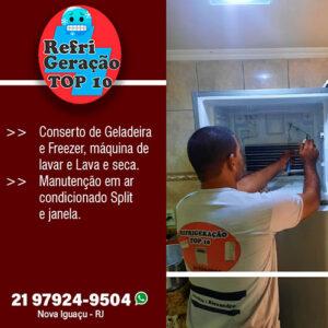 Conserto de geladeira em Nova Iguaçu