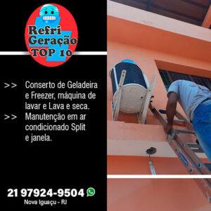 Manutenção em ar condicionado em Nova Iguaçu