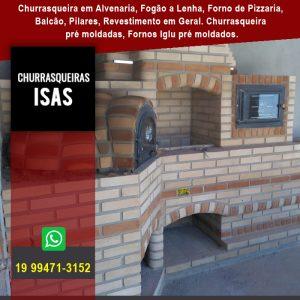 Churrasqueira de Alvenaria em Santa Rita do Passa Quatro